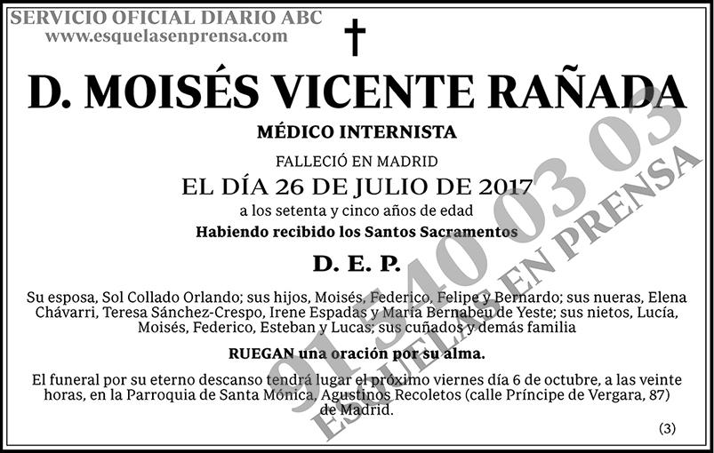 Moisés Vicente Rañada
